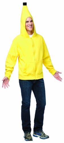 Banane Kostüm Rasta Imposta (Bana´ne Kapuzenjacke für Erwachsene -)