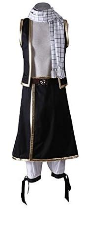 Fairy Tail Costume Natsu - Mtxc Hommes Fairy Tail Cosplay Costume Natsu