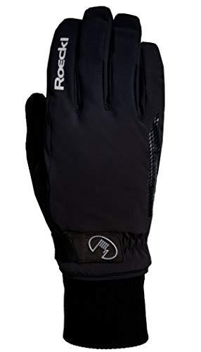 Roeckl Erwachsene Vermes GTX Handschuhe, Schwarz, 9