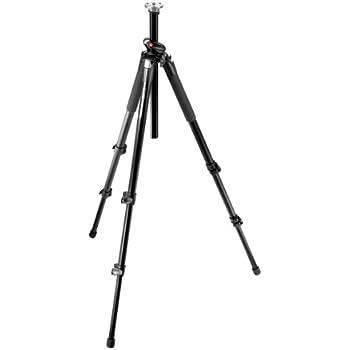 Manfrotto 055XPROB Stativ Pro (2 Auszüge, Belastbarkeit bis 7 kg, 178,5 cm Höhe) schwarz ohne Kopf