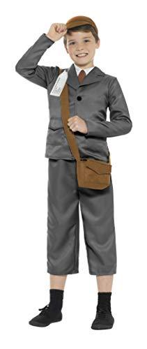 010t 2. Weltkrieg Evacuee Boy Kostüm mit Jacke, Hose/(Teen 12+) ()