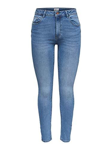 ONLY NOS Damen Skinny Jeans onlDAISY REG PUSHUPSK ANK JNS MJL102NOOS, Blau (Light Blue Denim), W27/L30 (Herstellergröße: 27)