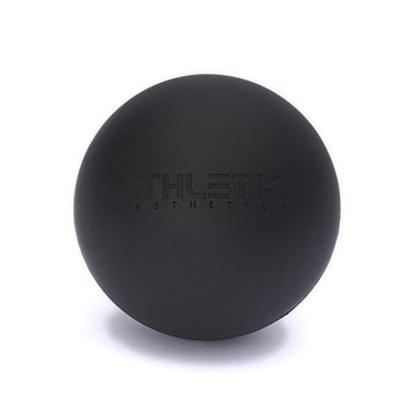 Athletic Aesthetics Lacrosse Ball 6cm Durchmesser Als Massage Ball Und Faszien Ball Zur Selbstmassage Und Zur Triggerpunkttherapie Genaue Behandlung Von Verspannungen Geeignet
