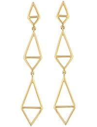 Katerina Psoma Femme Argent Boucles d'oreilles pendantes - TNE1702