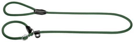 Hunter Freestyle retreiver 8/170 Formation Laisse en corde avec stopring Vert olive 8 mm x 170 cm