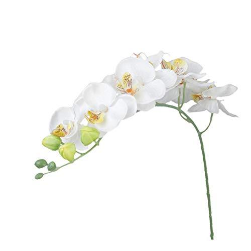 Canjerusof Schöner Künstlicher Gefälschter Waldhyazinthe Vivid Simulations-Blumen-Startseite Blumenstrauß Blumendekor Weiß
