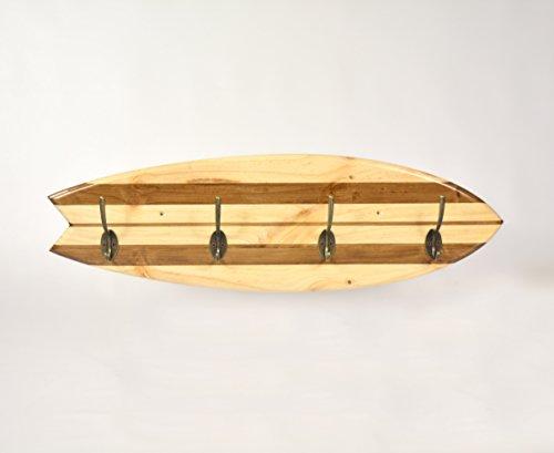 05 Art Deco. Perchero Tabla Surf Retro