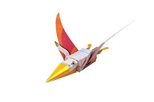 Paper Toys: Dinosaurier (Heraustrennen - Basteln - Spielen): Mit 10 beweglichen Dinosaurier-Modellen - 3
