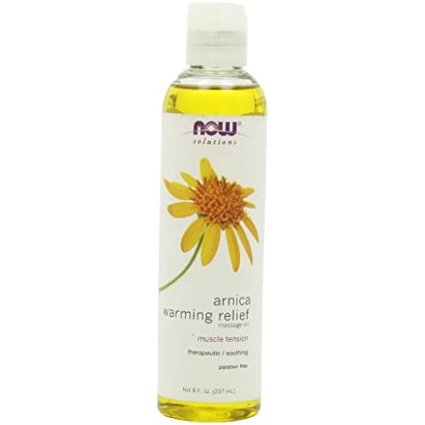 Solutions, Arnica Warming Relief Massage Oil, 8 fl oz (237 ml)