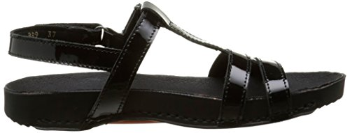Art Breathe 889, Sandales Femme Noir (Total Black)