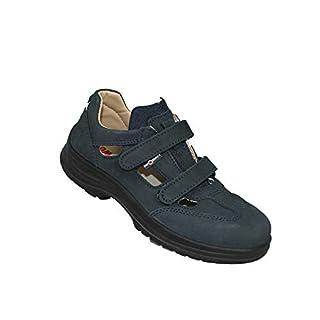 AIMONT Ambra S1 SRC Sicherheitsschuhe Arbeitsschuhe Trekkingschuhe Sandale Grün B-Ware, Größe:38 EU