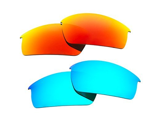 2-pairs-polarized-replacement-sunglasses-lenses-for-oakley-bottlecap-with-uv-protectionice-blue-and-