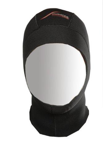 Scubatec Neoprenhaube Tauchhaube 1 mm schwarz M