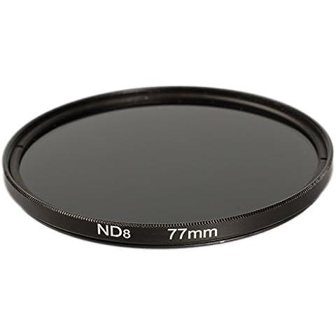 Ares fotográfico ® 77mm ND8filtro gris/filtro de densidad neutra/–Filtro ND/Filtros de densidad neutra para Sigma 50mm f1.4DG HSM |