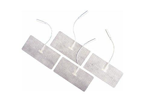 FIAB SpA PG474W Elettrodi Monouso in Tessuto Conduttivo per Elettrostimolazione con Cavetto...