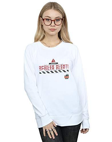 The Big Bang Theory Damen Spoiler Alert Sweatshirt Weiß Medium -