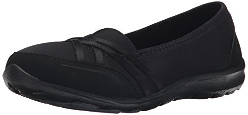 Pois Skechers Sport In A Pod Slip-on Flat Black