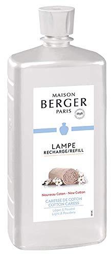 LAMPE BERGER Zarte Baumwollblüte Raumduft, Kunststoff, Transparent, 24 x 10 x 6 cm -