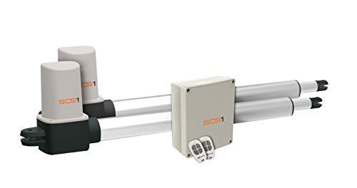 SCS Sentinel SCS1 Standard-Bausatz Drehtorantrieb 24V - Led-aluminium-montage-kanal