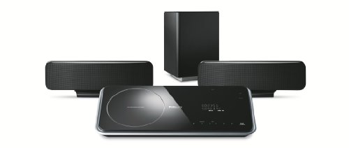 Philips HTS 6515 DVD Heimkino-System (DivX-zertifiziert, Ambisound, Upscaling 1080i, HDMI) schwarz
