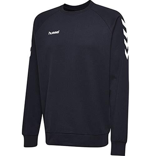 hummel Kinder Hmlgo Kids Cotton Sweatshirt, Blau (Marine), 128 Kinder Sweatshirt Marine