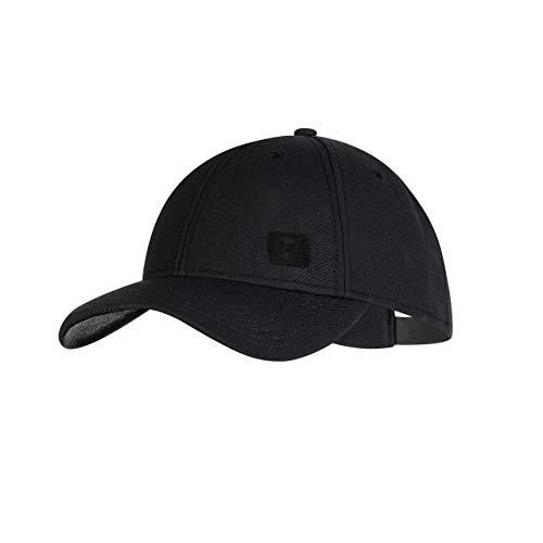 Buff Solid Baseball Cap Unisex Erwachsene Einheitsgröße schwarz