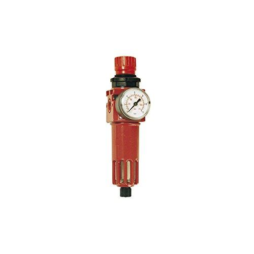 Elmag Raccord avec régulateur de pression Filtre à air comprimé, filetage 1/4 \