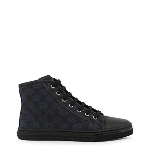 Gucci 426186_KQWM0 Women's Sneakers Black / 38 (Gucci High-top-sneakers)
