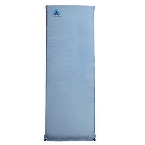 10T Ben 200x66x10 cm selbstaufblasbare Isomatte Mikrofaser Bezug Luftmatratze Schlafmatte Matratze