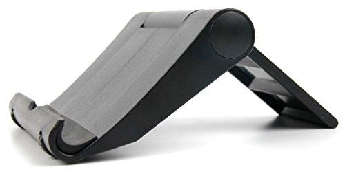 DURAGADGET Für alle Apple ipads (2, 3, 4, Air, Air 2, Mini, Mini 2, Mini 3, Mini 4, Pro 9.7 und Pro 12.9): Eleganter Ständer mit weicher Auflage (Facetime Wi)