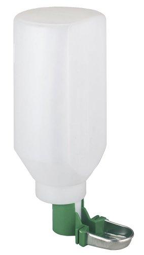 Kerbl 74302 Kaninchentränke mit Edelstahl- tasse, 2000 ml