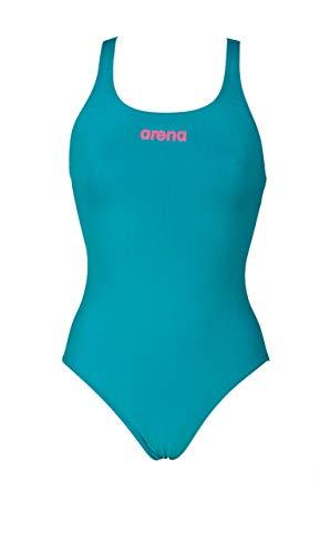 18b7229bbf50bc arena Damen Sport Badeanzug Solid Swim Pro (Schnelltrocknend, UV-Schutz UPF  50+