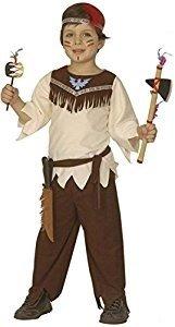 (Widmann-WDM4379B Kostüm für Mädchen, weiß braun, WDM4379B)