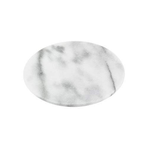 Horwood Runde Platte weiß