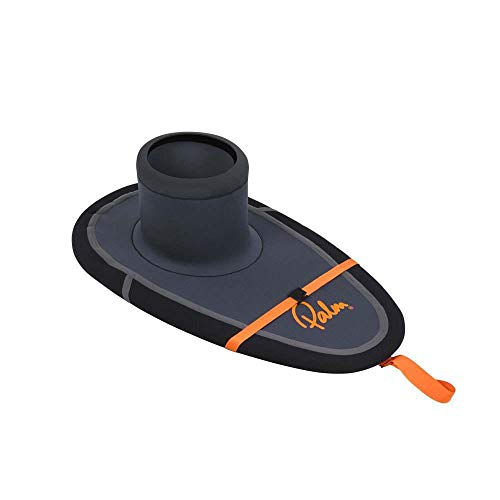 Palm Kajak oder Kajak - Enduro R4 Neoprenanzug Spray Deck Sailing Jet Grey - 3 mm Nylon Jersey CR Neopren-Deck