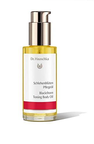 Body Toning Oil (Dr. Hauschka Schlehenblüten Pflegeöl unisex, kräftigendes Körperöl, 75 ml, 1er Pack (1 x 192 g))