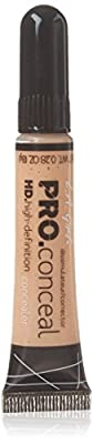L.A. Girl Cosmetics Pro Conceal HD Concealer, Creamy Beige 8 g