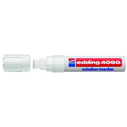 Kreide-/Fenstermarker e-4090, 4-15mm, weiß