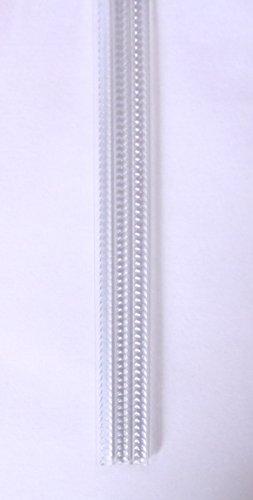 MercuryTextil Cortina para Puerta Tiras PVC 210x90cm,Cortina para Puerta Exterior,16 Color (Transparente)