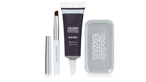 Models own now brow.–kit brow tinta–marrone scuro