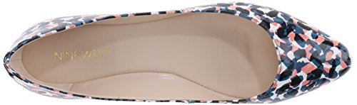 Nine West Speakup Synthetic Ballerinas Blue/Multi Synthetic