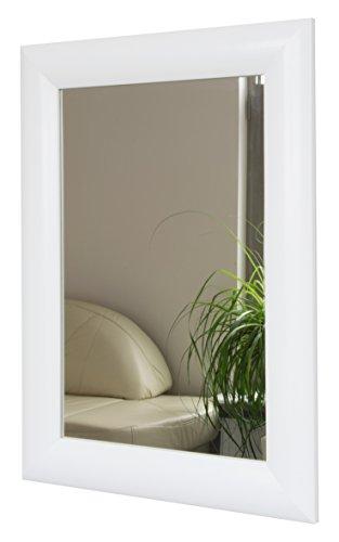 Espejo de Pared Espejo 49 x 67 cm, Blanco