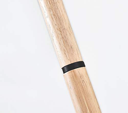 LYX Lampadaire, Europe du Nord Lampadaire Postmodern Simple Salon Étude de Chambre Creative Lire Vertical Bois Sol Lampadaire Bleu Rose Cuivre (Couleur : Pink)