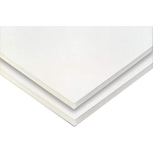 Clairefontaine GMB119Z Packung (mit 10 Bögen laminiertem Karton, DIN A1, 59,4 x 84 cm, 1,25 mm, 750 g, ideal für Bilderrahmung und für Bastelprojekte) weiß