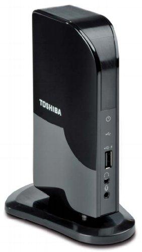 Toshiba Dynadock V10 Mini Port Replicator (DVI) USB-Docking-Station (Toshiba Windows-xp-notebooks)
