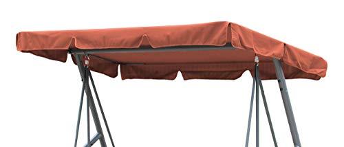 GRASEKAMP Qualität seit 1972 Ersatzdach Universal Hollywoodschaukel Terra Ersatz-Bezug Sonnendach Dachplane -