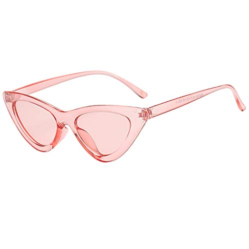 Battnot Sonnenbrille für Damen Herren, Vintage Unisex Katzenauge Schutz vor Radioaktivität Mode Brillen Männer Frauen Billig Retrostil Weinlese Cat Eye Sunglasses Super Coole Travel Eyewear