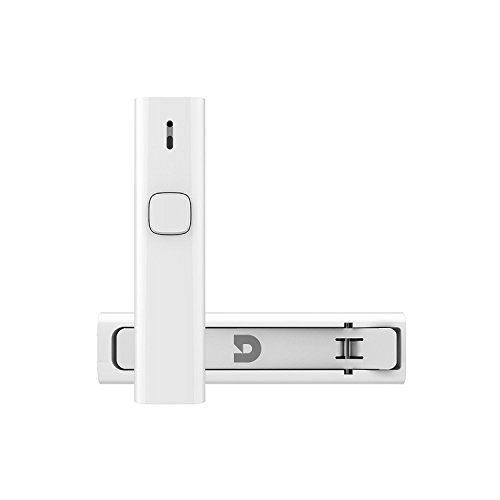 Bluetooth 4.2 Empfänger, Micar Portable Mini Wireless Audio Adapter übertragen Smartphone Anruf oder Musik auf 3,5 mm Aux, Back Clip Freisprecheinrichtung Bluetooth Car Kit eingebautes Mikrofon für Home & Car Audio Stereo und Kopfhörer