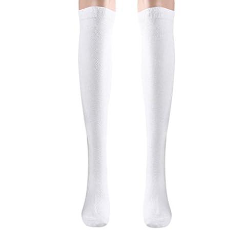 Costumes Avec Long Black Socks - Mode, chaud, confortable! Reaso Femmes Fille Pure