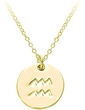 Hacool 12 verschiedene Sternzeichen Tierkreiszeichen Horoskop Horoscope Halskette Surferkette
